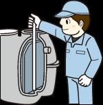 処理水槽・消毒槽