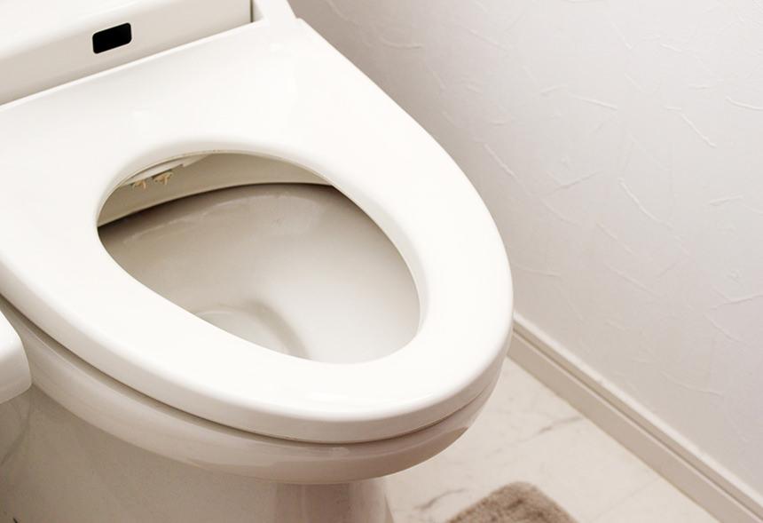 【笛吹市】トイレの便器にチョロチョロと水が流れてくる